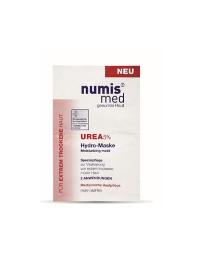 NUMIS MED - MOISTURIZING MASK UREA-5% - 2x8ML