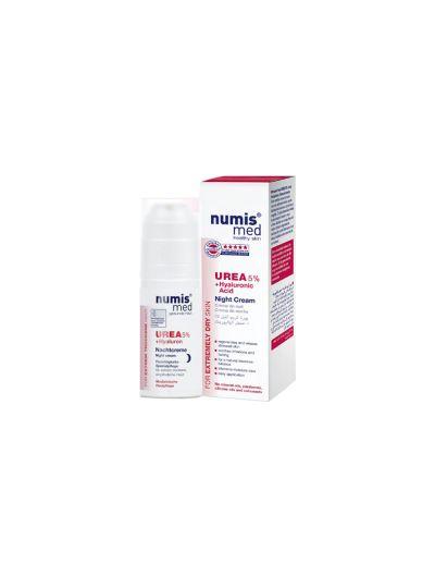 NUMIS MED - NIGHT CREAM UREA-5% + HYALURONIC ACID - 50ML