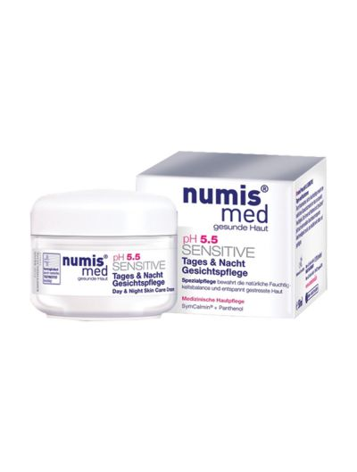 NUMIS MED - pH 5.5 SENSITIVE DAY & NIGHT FACE CARE CREAM - 50 ML