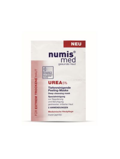 NUMIS MED - DEEP CLEANSING MASK UREA-5% -2x8ML